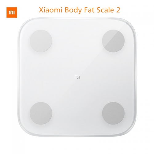 Original Xiaomi Smart Body Fat Composition Scale 2 Bluetooth 5.0 Balance Test 13 Body Date BMI Health Weight Scale LED display