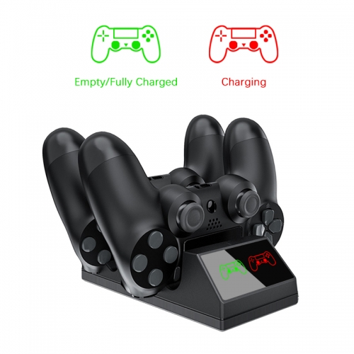 PS4 Controller charger USB charging station with LED light For wireless Sony Playstation 4 / PS4 / Pro / Slim controller