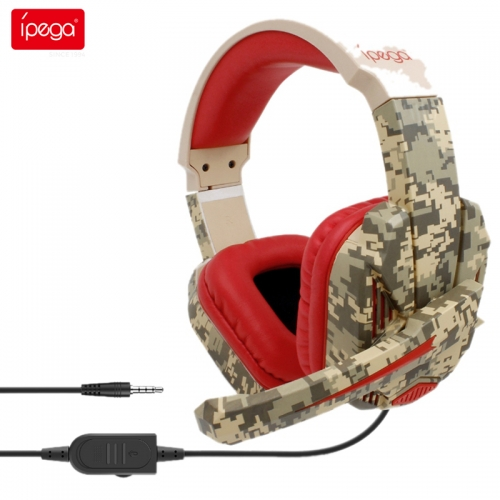 ipega PG-R005 Gaming Headset Stereo Noise Canceling Gaming Headphones 3.5 m Cable Headphones for Nintendo Switch Lite PS4 PC XBOX One 360