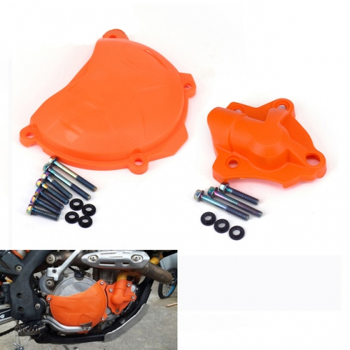 Motorcycle clutch protection water pump cover protection for KTM SXF EXC XCF XCF SX-F EXC-F XC-F XCF-W 250 FREERIDE 350 2014 2015