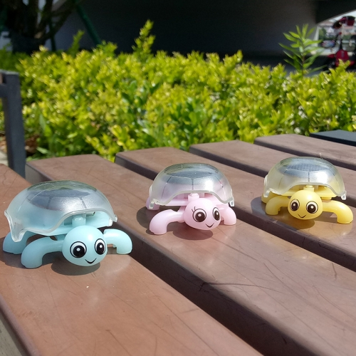 Solar Mini Creeper Turtle Kids Early Education Toys Gifts for Children