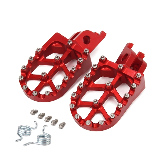 Motorcycle CNC FootRest Footrest Pedals For HONDA CR125 CR250 CRF150R CRF250R CRF250X CRF450R CRF450X CRF250L CRF250M