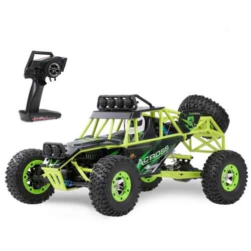 Wltoys 12428 1/12 2.4G 4WD 50km/h High Speed RC Car Off Road Car RC Rock Crawler Cross-country RC Truck