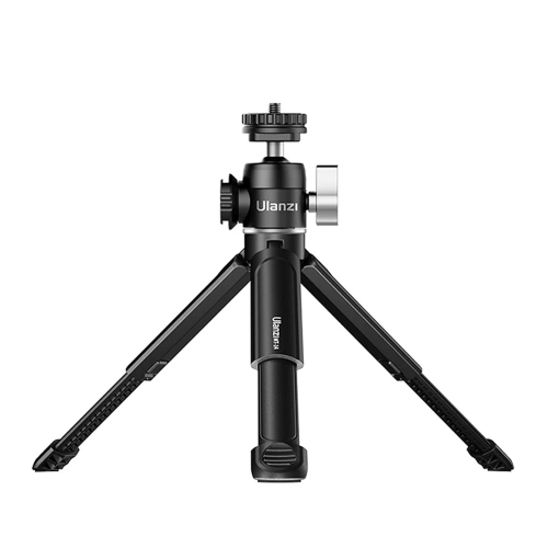 Ulanzi U-Vlog lite Extendable Tripod with Cold Shoe and Ball Head for Phone Mirrorless Camera Vlog Compatible with iPhone