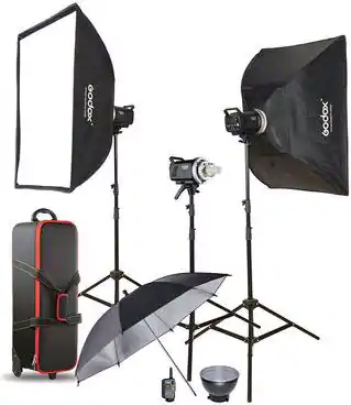 Godox MS200-D / MS300-D Studio-Kit