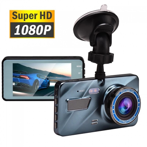 "Car DVR Dash Cam Video Recorder 3 in 1 Rear View Camera Full HD Car Camera 3.6 ""Cycle Recording Night Vision G-sensor Dashcam"