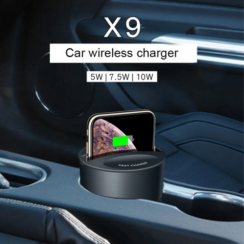 10w 7.5W Wireless Car Charger Cup For iPhone XsMax/Xs/Xr/11/12 quickly Wirless Charging Holder Charge Stand For Samsung HUAWEI