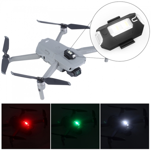 Ulanzi DR-02 Rechargeable Drone Light For DJI Mavic 2 Pro / air 2 Night Fly Anti-collision Strobe Lighting drone Accessories