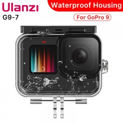 Ulanzi G9-7 Diving Waterproof Housing Case for GoPro Hero 9 Protective Camera Case for Go Pro 9 Accessories