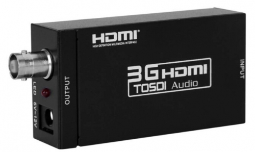 3G HDMI to SDI Converter, HDMI switch to 3G HD SD SDI Signals,Supports 1080P