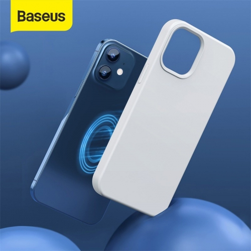 Baseus Liquid Silica Gel Magnetic Cover Case for Apple iPhone 12 Series