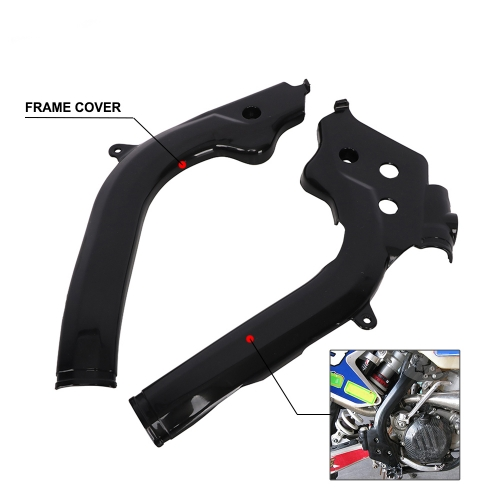 Motorcycles protection of black frame guards for KTM SX 125 SX150 SX-F250 SXF 250 SXF 350 SX-F 450 SXF 450 XC-F250 XCF350 XC-F450 16-17