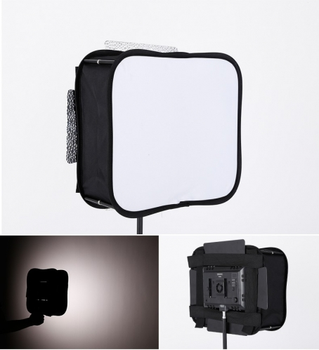 SB300 Softbox Diffuser for YONGNUO YN300 III II, YN300 Air Led Video Light Panel Foldable Portable Soft Filter