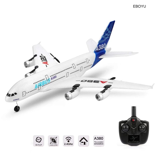 Wltoys Xk A120 Airbus A380 Model Remote Control Airplane 2.4G 3ch Epp Rc Airplane Fixed-wing Rtf Rc Wingspan Toys