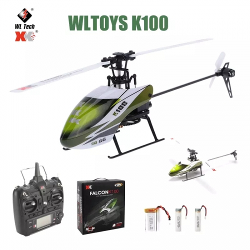 Wltoys XK K100 RC Drone 2.4G 6CH 3D 6G Mode Brushless Motor Remote Control RC Helicopter Quadcopter for Children Gift Toys