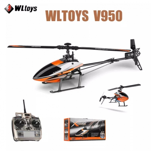 WLtoys V950 RC Drone 2.4G 6CH 3D 6G Mode Brushless Motor Powerful RTF BNF RC Quadcopter Toys for Children Gifts