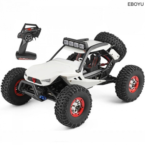 WLToys 12429 RC Car Rock Off-Road Racing Vehicle RC Crawler Truck 2.4Ghz 4WD High Speed 1:12 Radio Remote Control Buggy Gift RTF
