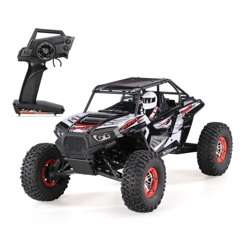 Wltoys Remote Control Climbing Car SUV 10428-B2 10428-C2 1:10 2.4G 4WD Electronic Rock Crawler Off-Road Buggy Desert Baja RC Cars RTR