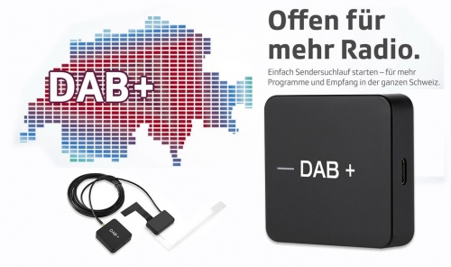 DAB + Digital Radio Tuner for Android 7.1, 8.0, 9.0 und 10.0 Car Stereo Car Radio Player