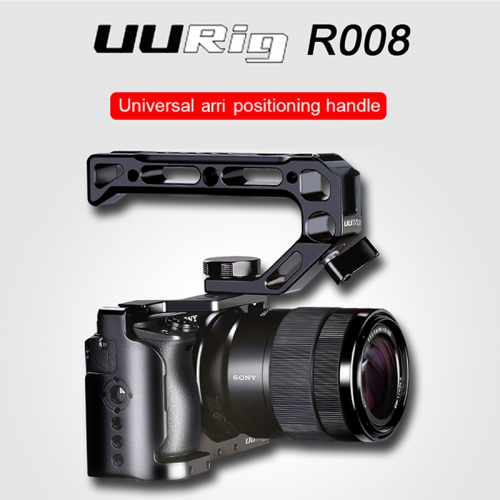 UURig R008 Universal Camera Top Handle Hand Grip Cold Shoe Monitor Mic for Nikon Canon Sony DSLR Camera Accessories