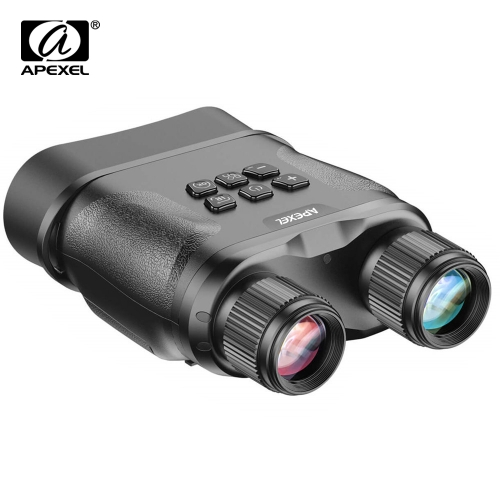 APEXEL APL-NV001 Digital Night Vision Binoculars for Complete Darkness GlassOwl Infrared Night Vision Goggles for Hunting Monitoring
