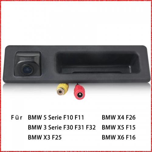 Car Rear View Camera Auto Parking Monitor For BMW 5 series F10 F11 / 3 series F30 F31 F32 / X3 F25 / X4 F26 / X5 F15 / X6 F16