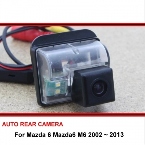 For Mazda 6 M6 2002 ~ 2013 Rear View Camera Reversing Camera Auto Back up Camera HD CCD Night vision Vehicle Camera