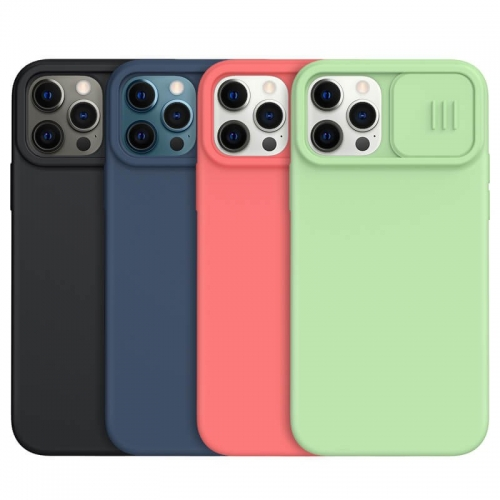 Nillkin CamShield Silky Magnetic Silicon Case for Apple iPhone 12 Series