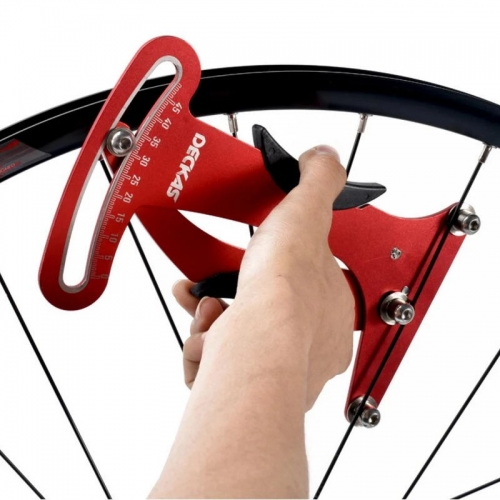 Deckas Bike Display Attrezi Meter Tensiometer Bicycle Spoke Tension Wheel Builders Tool Bicycle Spoke Repair Tool