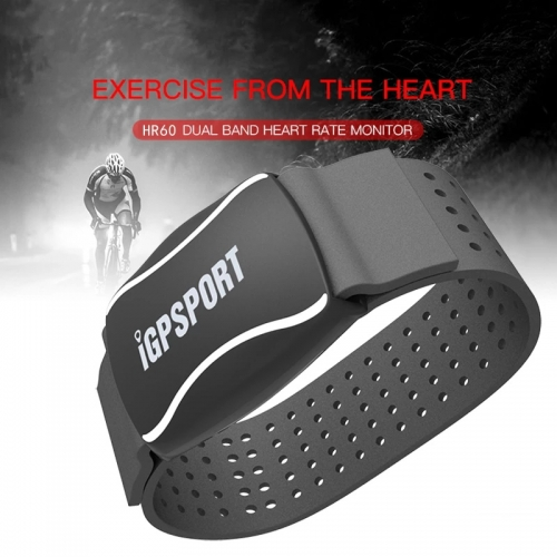 IGPSPORT Arm Photoelectric Heart Rate Monitor LED Light Warning HR60 HR Monitor Support Bike Computer Mobile APP