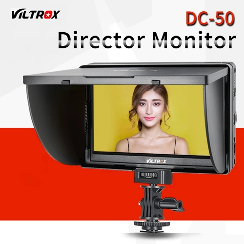 Viltrox 5'' LCD Monitor DC-50 Clip-on HD 800 x 480P Wide View for Canon Nikon Sony A9 a7II A7SII A6500