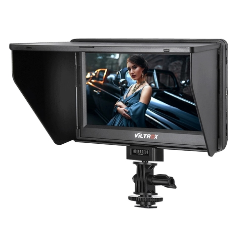 Viltrox dc-70 II 7 HD On Mount Colour TFT LCD 1024 x 600 with AV Input / HDMI and Output HDMI for Canon Nikon DSLR
