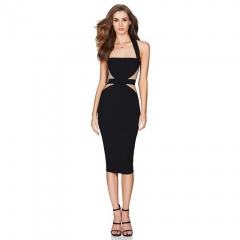 Pre-Sale ADYCE 2019 New Summer Women Bodycon Bandage Dress Sexy Halter Strapless Lace Club Dress Celebrity Evening Party Dresses