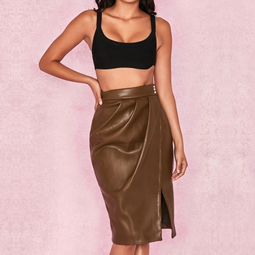 Adyce New Summer Women Skirts  Elegant High Waist Sexy Green Knee Length Clubwear Skirt Celebrity Prom Bodycon Party Skirts