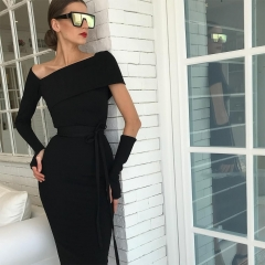 Adyce Summer Bandage Dress Women Vestidos Verano 2019 New Sexy Hollow Out Black Bodycon Club Dress Celebrity Evening Party Dress