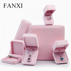 FANXI Custom Logo Wedding Gift Boxes For Ring Necklace Brace...