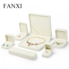 FANXI Custom Logo Luxury Plastic Packaging Boxes For Ring Ea...