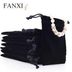 FANXI Custom Logo Packaging Bags For Gift Jewellery Ring Nec...