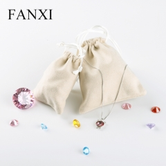 FANXI Wholesale Pouch Bag with Drawstring For Gift Jewellery...