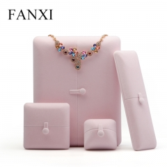FANXI Wholesale Custom Logo Plastic Jewelry Boxes For Ring B...
