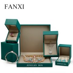 FANXI Plastic Gift Boxes With Silk Insert For Ring Necklace ...