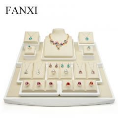 FANXI Custom Resin Jewellery Exhibitor Organizer With White ...