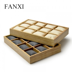 FANXI Custom OEM Jewelry Display Trays With Microfiber Pillo...