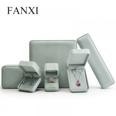 FANXI Wholesale Jewelry Gift Boxes For Ring Earrings Necklac...