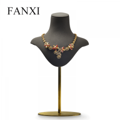 FANXI Wholesale Custom Jewelry Display Mannequin With Metal ...