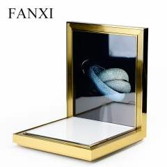 FANXI Custom Luxury Jewellery Display Organzier With LCD Scr...