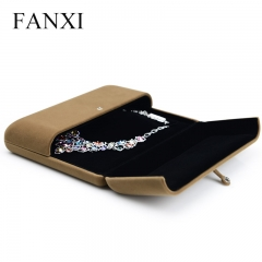 FANXI Accept Custom High End Velvet Big Necklace Jewelry Box...