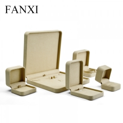 FANXI Factory Fine Workmanship Luxury Almond Color Microfibe...