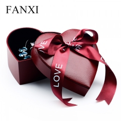 FANXI Custom Elegant Jewellery Gift Box With Ribbon And Foam...