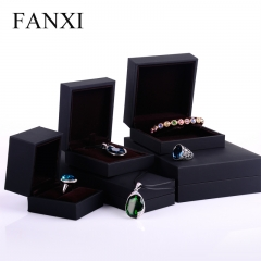 FANXI Classical Custom Logo Touching Paper Jewelry Packaging...